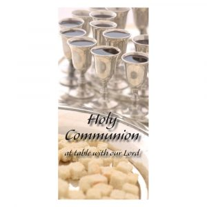 Holy Communion at table with our Lord