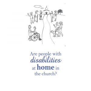 Are people with disabilities at home in the church