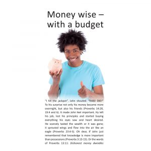 Become money wise with a budget