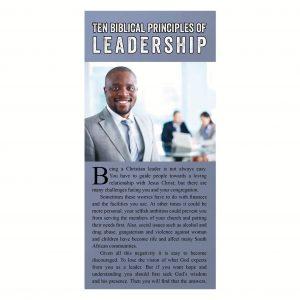 Ten Biblical guidelines of leadership